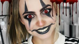 Halloween Makeup Clown Faces by Easy Clown Halloween Makeup Tutorial Sophie Foster Youtube