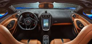 mclaren supercar interior 570s spider interior mclaren sports series
