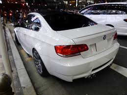 Bmw M3 Coupe - file bmw m3 coupé e92 at night rear jpg wikimedia commons