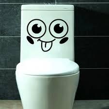 toilet monster bathroom decal funny vinyl sticker wall art 82173 toilet monster bathroom decal funny vinyl sticker wall art 82173