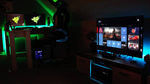 furniture other design stunning gaming computer setup with double