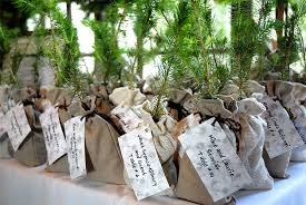 eco friendly wedding favors green wedding favors
