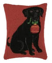 discover our exclusive pillows this black lab hooked