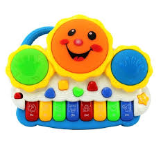 buy sahibuy drum keyboard musical toys with flashing lights