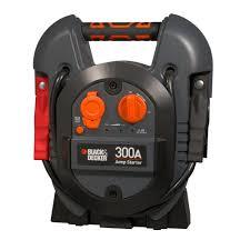 home depot black friday battery deals black decker 300 amp portable jump starter j312b the home depot