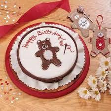 stitched teddy bear birthday cake recipe taste