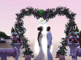 wedding arches in sims 3 26 best wedding arch images on marriage and