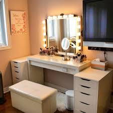 Makeup Vanity Light Makeup Vanity Ikea Gallery Of Diy Makeup Vanity Ikea Micke Desk