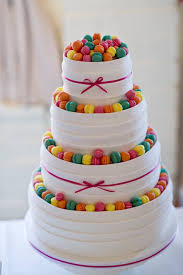 different wedding cakes mini macaron wedding cake something a bit different and