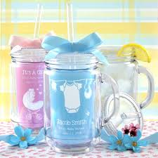 personalized baby shower favors baby shower jar tumbler personalized baby shower favors