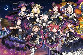 halloween torrents fan made aqours halloween set edit schoolidolfestival