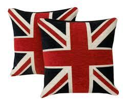 Blue Union Jack Cushion Union Jack Or England Flag Blue Red White Duvet Quilt Cover