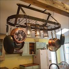 kitchen pot racks with lights kitchen hang pots and pans in small kitchen kitchen hanging pot