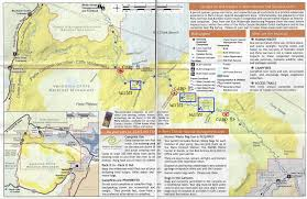 Arizona Strip Map by Paria Canyon Backpacking Guide Bearfoot Theory