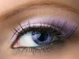 purple eye color light purple shimmer eyeshadow leska lilac