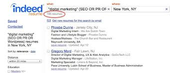 Indeed Create Resume How To Use Indeed Resume Search