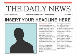 newspaper article template word best business template