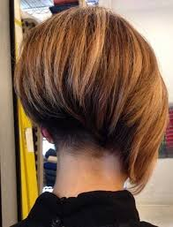 asymetrical ans stacked hairstyles asymmetrical bob haircut back view for your hair glamor haircuts