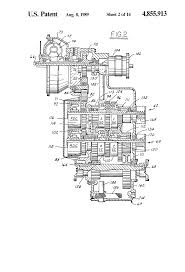 patent us4855913 electronic control system for powershift