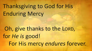 giving thanks to god psalm 136 1 26 thanksgiving to god for his