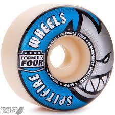 formula 4 spitfire spitfire formula four radials skateboard wheels 99a 54mm park
