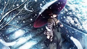 winter anime wallpaper hd sad anime wallpapers sf wallpaper