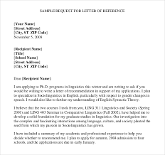 reference letter templates u2013 12 free word pdf documents download