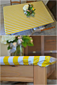 elastic plastic table covers rectangle how to sew a fitted tablecloth free tutorial on craftsy simple