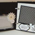 wedding scrapbook album wedding scrapbook album chipboard bridal craftysweethearts diy