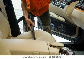 Interior Car Shampoo Cleaning Interior Car Vacuum Cleaner Car Stock Photo 503280265