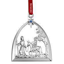 2015 waterford nativity passage to bethlehem silverplate