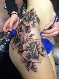 traditional rose tattoo black and grey sleeve rose tattoo half