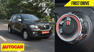 renault kwid on road price diesel renault kwid amt first drive autocar india youtube