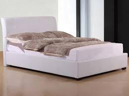 joseph otto white faux leather ottoman storage bed 5ft kingsize