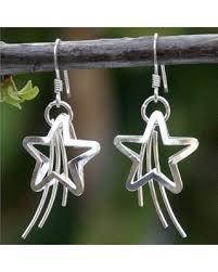 thailand earrings new savings on novica handmade sterling silver shooting