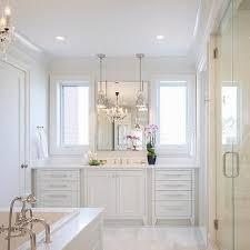 master bathrooms ideas bathroom bathroom chandelier all white master transitional ideas