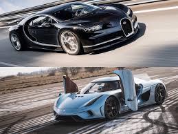 koenigsegg one engine hypercar face off bugatti chiron vs koenigsegg regera