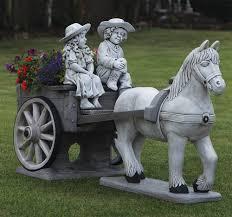 cart statue large garden ornament s s shop