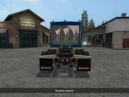kenworth w900l kenworth w900l fs2km mod for farming simulator 2017 kennworth