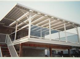 Glass Awning Design Patio Patio Awnings Aluminum With White Fence Design Ideas And