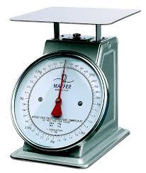 balance professionnelle cuisine balance de cuisine professionnelle mécanique 50 kg matfer