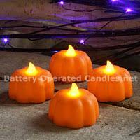 halloween u0026 fall decor safe u0026 flameless battery operated candles