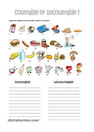 Countable And Uncountable Nouns Practice Pdf Countable Uncountable Food Exercises Pdf 100 Images Countable