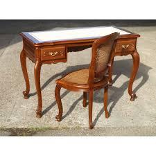 bureau en merisier bureau régence en merisier meubles de normandie