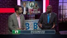 what s the reason for the celtics win streak nbc sports