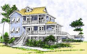 2 story beach cottage house plans home design and style