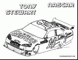 impressive nascar race car coloring pages with nascar coloring