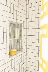 Bathroom Mosaic Tile Designs by Best 25 Subway Tile Patterns Ideas On Pinterest Shower Tile