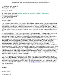 cover letter for mechanical design engineer engineer cover letter