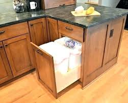 trash cans for kitchen cabinets kitchen garbage can cabinet kitchen trash can cabinet plans kitchen
